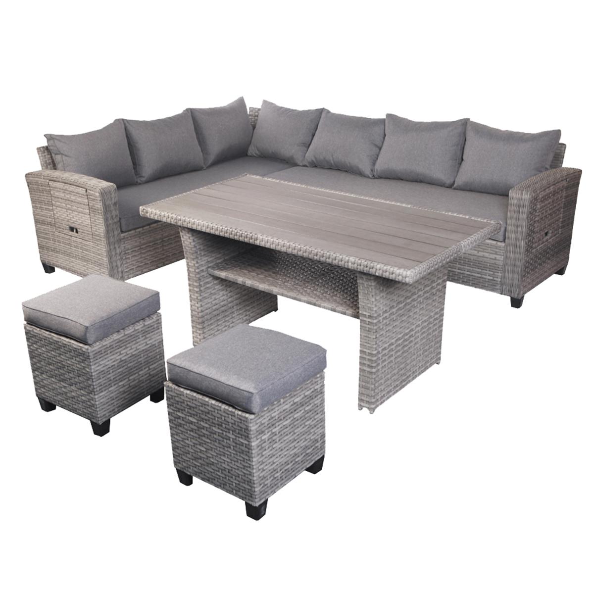 Terrassen Lounge Set LEON Variante 20 – linder exclusiv